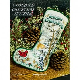 Woodland Christmas Stocking Stoney Creek