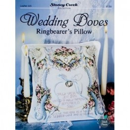Wedding Doves Ringbearer's Pillow Stoney Creek