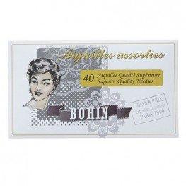 Набор игл для вышивки и шитья (40 шт) Bohin 98276