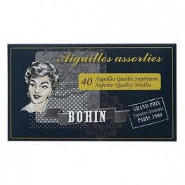Набор игл для вышивки и шитья (40 шт) Bohin 98274
