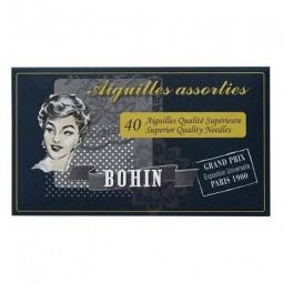 Иглы в ассортименте Bohin, цвет черный