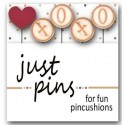 Булавки Kisses Just Another Button Company jp175
