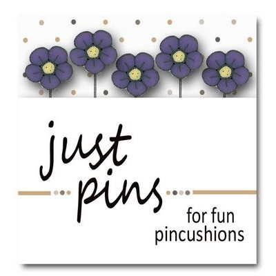 Булавки Just Violet Wildflower Just Another Button Company jp539