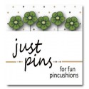 Булавки Just Lime Wildflower Just Another Button Company jp537