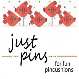 Булавки Just Orange Fish Just Another Button Company jp536