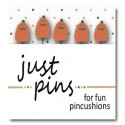 Булавки Just Squiggle Mouth Pumpkins Just Another Button Company jp531