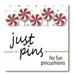 Булавки Just Peppermint Swirls Just Another Button Company jp529