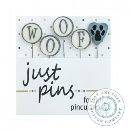 Булавки Woof Just Another Button Company jp219