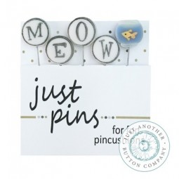 Булавки Meow Just Another Button Company jp218