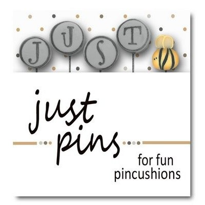 Булавки Just Bee (On Gray For Hod) Just Another Button Company jp211