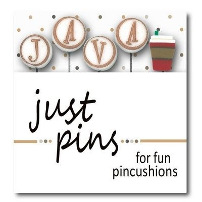 Булавки J is for Java Just Another Button Company jp199