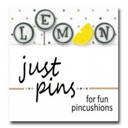 Булавки L is for Lemon Just Another Button Company jp188