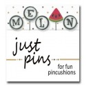 Булавки M is for Melon Just Another Button Company jp187