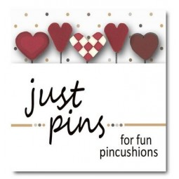 Булавки Heart Assortment Just Another Button Company jp182