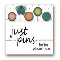 Булавки Butterfly Dots Just Another Button Company jp179