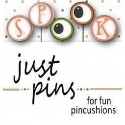Булавки S is for Spook Just Another Button Company jp170