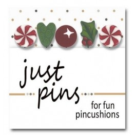 Булавки Mistletoe Holiday Just Another Button Company jp158