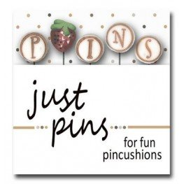 Булавки P is for Pins (strawberry) Just Another Button Company jp155
