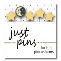 Булавки Moon & Stars Just Another Button Company jp148