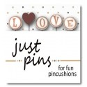 Булавки L is for Love Just Another Button Company jp146