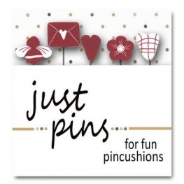 Булавки Will you Bee my Valentine Just Another Button Company jp143