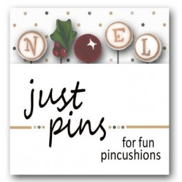 Булавки N is for Noel Just Another Button Company jp138