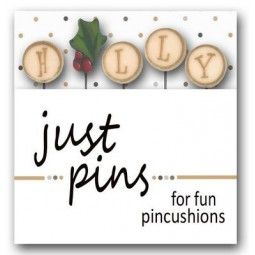 Булавки H is for Holly Just Another Button Company jp137