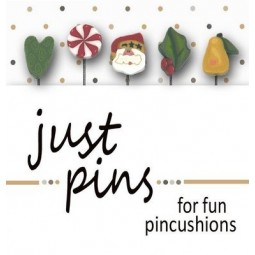 Булавки Holiday Assortment Just Another Button Company jp101