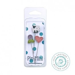 Булавки Pin-Mini Happy Life Just Another Button Company jpm457