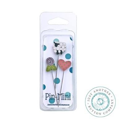 Булавки Pin-Mini Happy Life Just Another Button Company jpm457
