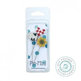 Булавки Pin-Mini On the Farm Just Another Button Company jpm455