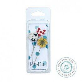 Булавки Pin-Mini On the Farm Just Another Button Company jpm455