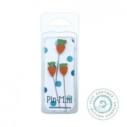 Булавки Pin-Mini 3 Carrots Just Another Button Company jpm453