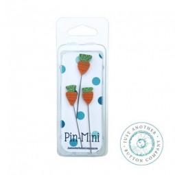 Булавки Pin-Mini 3 Carrots Just Another Button Company jpm453
