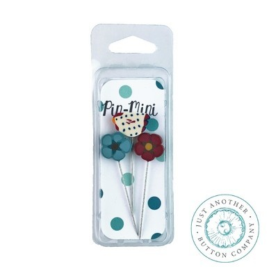 Булавки Pin-Mini Rustic Roost Just Another Button Company jpm434
