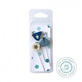 Булавки Pin-Mini Liberty Just Another Button Company jpm419