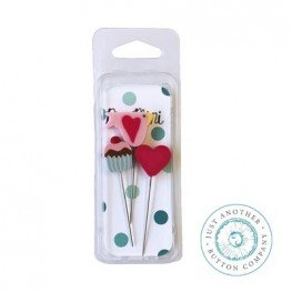 Булавки Pin-Mini Sweetheart Just Another Button Company jpm410