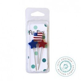 Булавки Pin-Mini Stars and Stripes Just Another Button Company jpm406
