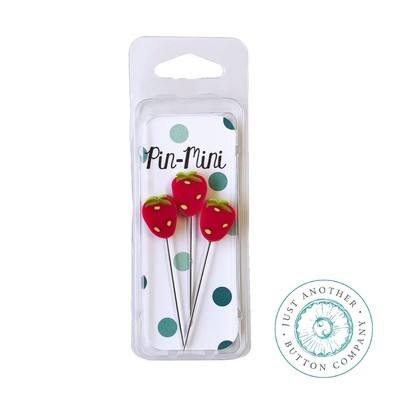 Булавки Pin-Mini Wild Strawberries Just Another Button Company jpm400