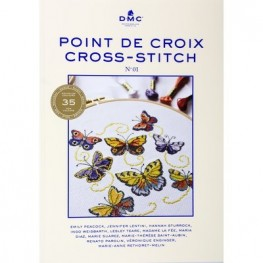 Книга Point de Croix Cross-Stitch DMC №1