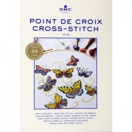 Книга Point de Croix Cross-Stitch DMC №1