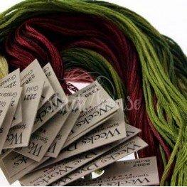 Комплект нитей Weeks Dye Works Dreaming of Tulips Rosewood Manor