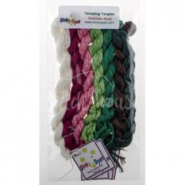 Комплект нитей Dinky Dyes Summer Buzz Tempting Tangles Designs