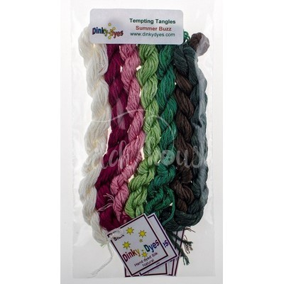 Комплект нитей Dinky Dyes Summer Buzz Tempting Tangles Designs