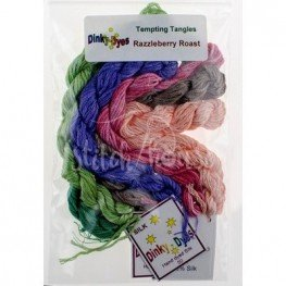 Комплект нитей Dinky Dyes Razzleberry Roast Tempting Tangles Designs