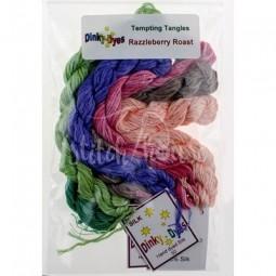 Комплект нитей Dinky Dyes Razzleberry Roast Tempting Tangles Designs