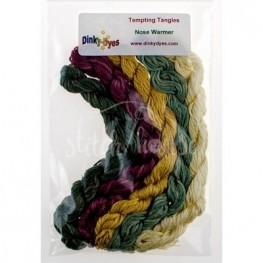 Комплект ниток Dinky Dyes Nose Warmer Tempting Tangles Designs