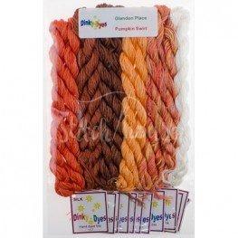 Комплект нитей Dinky Dyes Pumpkin Swirl Glendon Place
