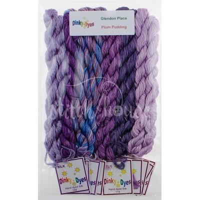 Комплект нитей Dinky Dyes Plum Pudding Glendon Place