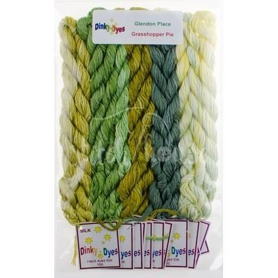 Комплект нитей Dinky Dyes Grasshopper Pie Glendon Place